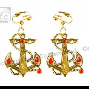 oorbellen marine goud