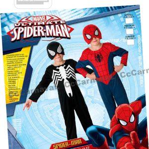 2-in-1 Spiderman rood en zwart